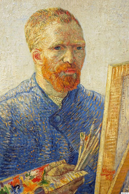 Van Gogh có thể bị mù màu
