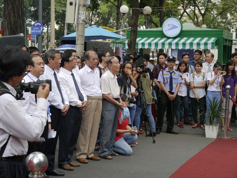 Rộn ràng Ngày sách Việt Nam lần 2 tại TP.HCM - ảnh 1