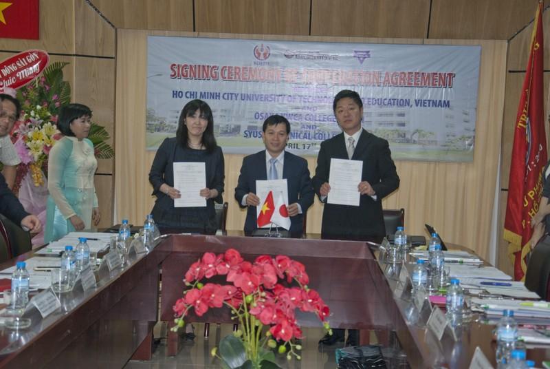 Ba trường Việt-Nhật hợp tác đào tạo - ảnh 1