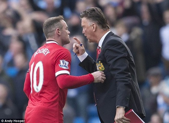 M.U và HLV Van Gaal vẫn trông chờ vào Rooney
