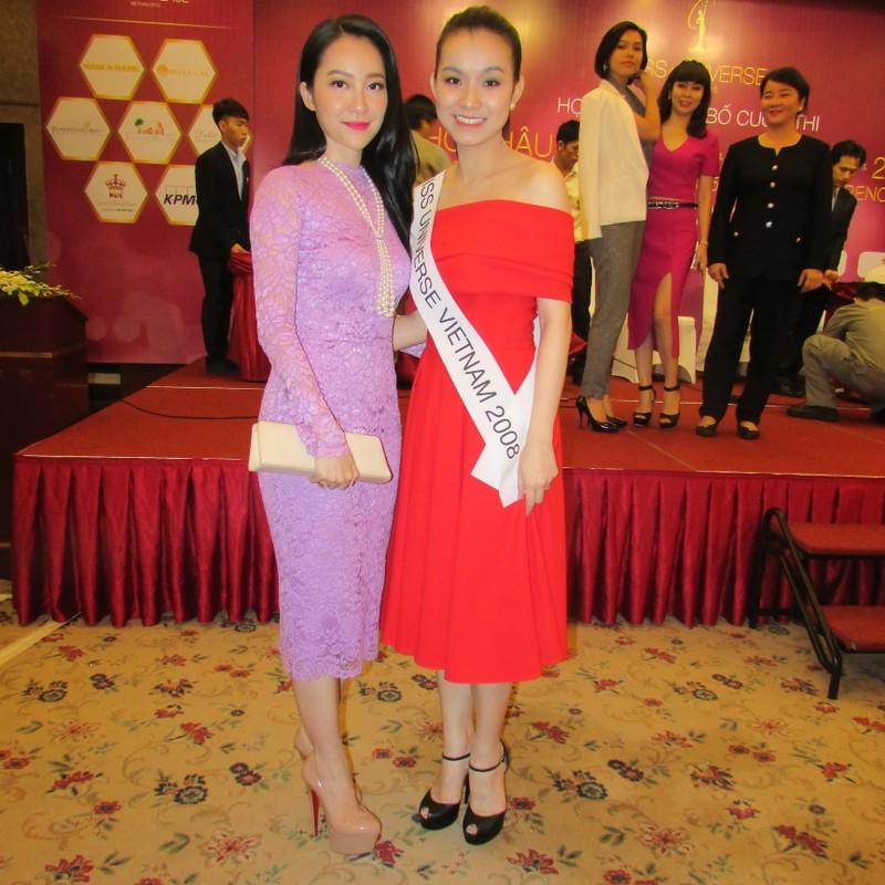 Dàn hoa hậu, á hậu khoe sắc tại Lễ công bố cuộc thi Hoa hậu Hoàn vũ 2015  - ảnh 2