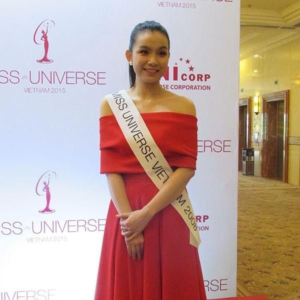 Dàn hoa hậu, á hậu khoe sắc tại Lễ công bố cuộc thi Hoa hậu Hoàn vũ 2015  - ảnh 7
