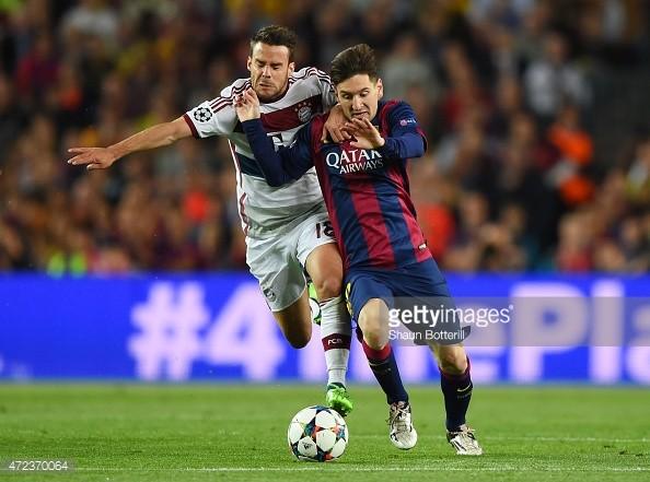 Barcelona - Bayern 3-0: Messi rực sáng khiến 'hùm xám' tan nát - ảnh 1