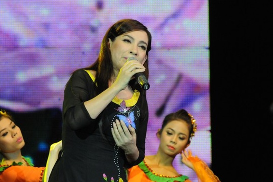 Ca sĩ Phi Nhung - một trong những ca sĩ trình bày nhiều ca khúc của Tô Thanh Sơn Ảnh: HỒNG THÚY