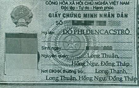 Hình ảnh chứng minh thư của con ông Hảo.