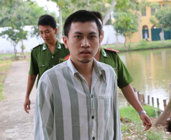 Quách Văn Chiến tại trại giam Công an tỉnh Bạc Liêu