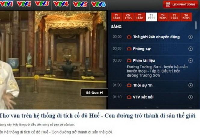 """VTV """"đọc nhầm"""" vua triều Nguyễn với vua nhà Thanh  - ảnh 1"""