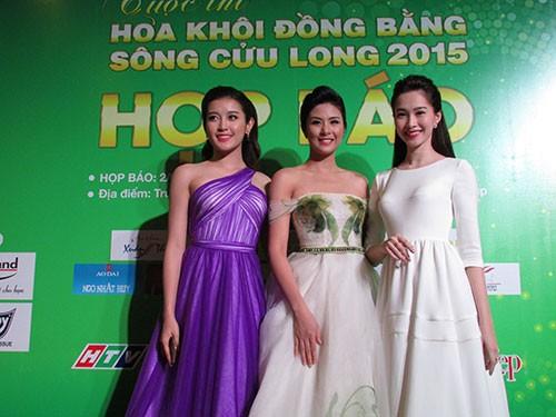 Hoa hậu Ngọc Hân đọ sắc với HH Thu Thảo và á hậu Huyền My - ảnh 2