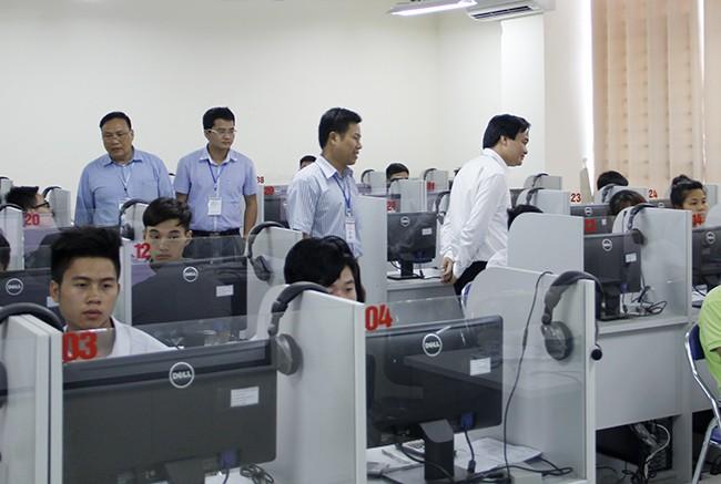 Thi vào ĐH Quốc gia Hà Nội: Gần 73% thí sinh đạt trên ngưỡng điểm trung bình - ảnh 1