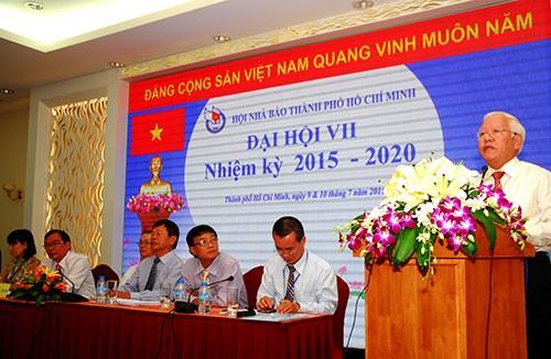 Ông Mã Diệu Cương tái đắc cử Chủ tịch Hội Nhà báo TP.HCM - ảnh 1