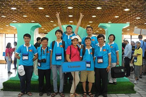 Việt Nam giành bốn huy chương Olympic tin học quốc tế - ảnh 1