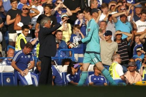 HLV Mourinho nói gì về chiếc thẻ đỏ đầu tiên của mùa giải: No comment - ảnh 1
