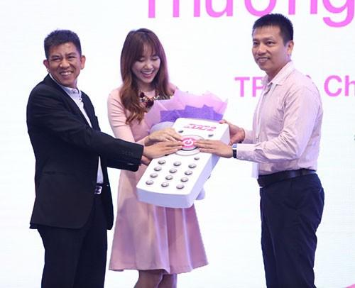 Hari Won gây cười khi làm đại sứ cho phim Hàn ở Việt Nam - ảnh 3