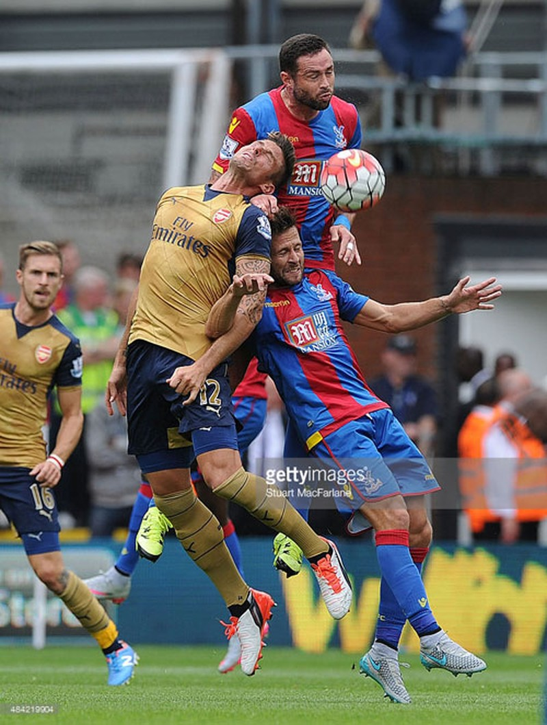 Chiến thắng đầu tay (2-1) của Arsenal trước chủ nhà Crystal Palace - ảnh 1