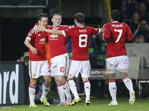 Club Brugge 0-4 MU: Rooney lập hat-trick, MU dự C1  - ảnh 2