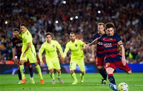 Barcelona 4-1 Levante: Siêu sao Messi toả sáng ghi 2 bàn thắng - ảnh 1