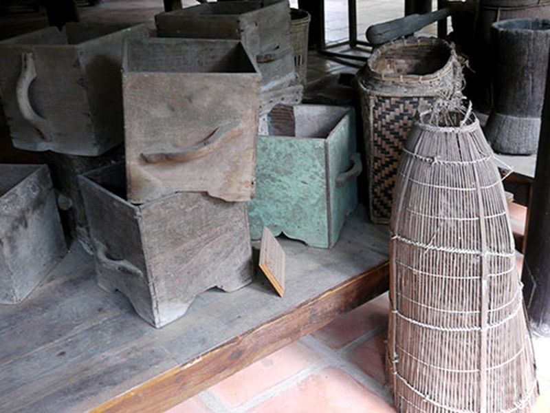 Nơi lưu giữ nhiều nông cụ xa xưa trên dải đất miền Trung - ảnh 15