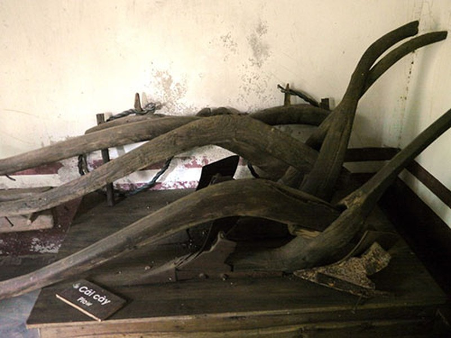Nơi lưu giữ nhiều nông cụ xa xưa trên dải đất miền Trung - ảnh 4
