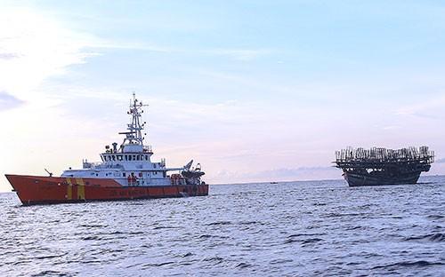 Cứu 38 thuyền viên, được Bộ trưởng Đinh La Thăng khen - ảnh 1