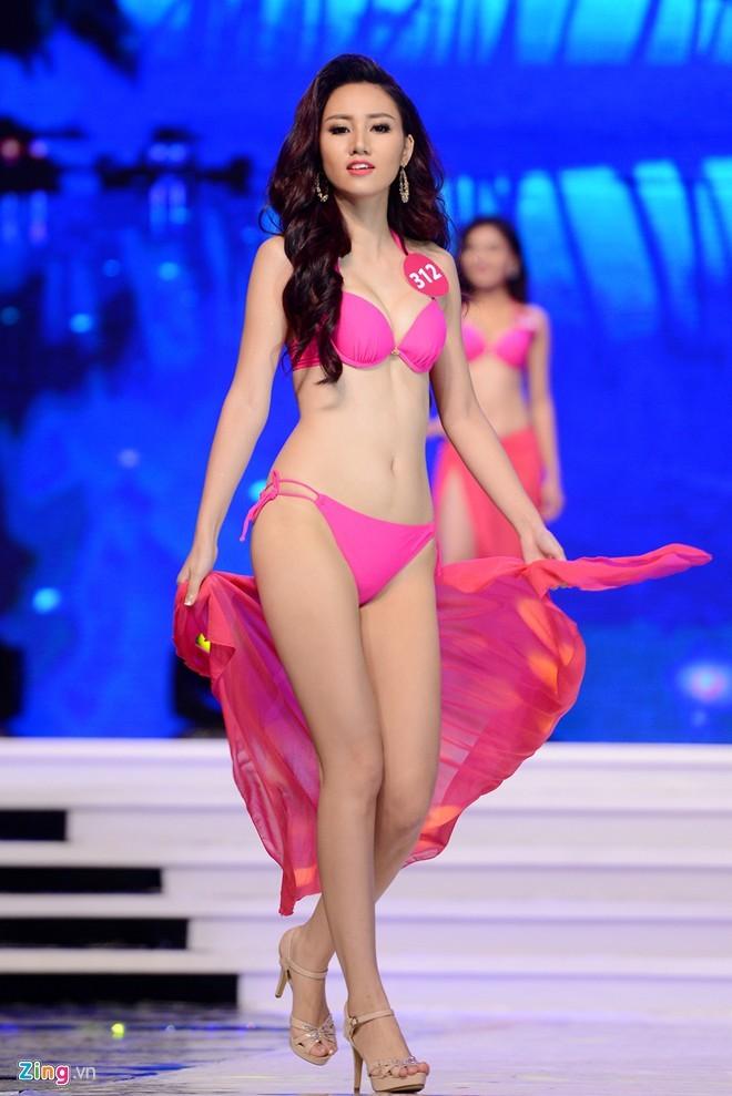 Người đẹp 'Hoa hậu Hoàn vũ VN' giảm cân trước đêm chung kết - ảnh 1