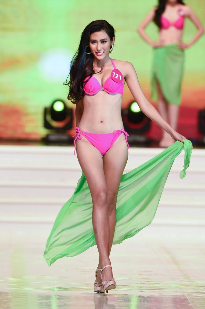 Người đẹp 'Hoa hậu Hoàn vũ VN' giảm cân trước đêm chung kết - ảnh 2