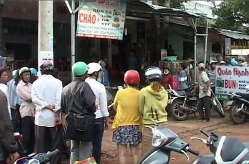 Vụ 3 người bị chém ở Đắk Lắk: Do mâu thuẩn tình cảm ? - ảnh 1