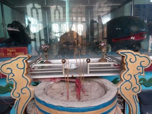 Linh thiêng nghĩa trang cá Ông lớn nhất Việt Nam - ảnh 14