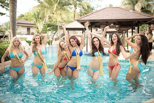 Lệ Quyên tự tin diễn bikini trên đất Thái - ảnh 2