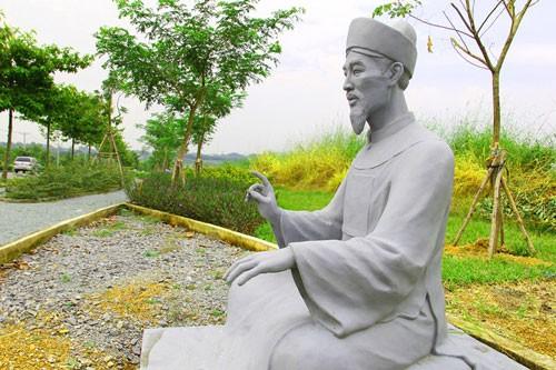 Vườn tượng danh nhân ở làng đại học - ảnh 11