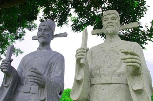 Vườn tượng danh nhân ở làng đại học - ảnh 2