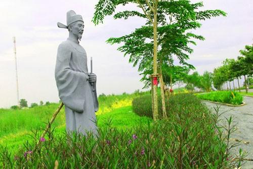 Vườn tượng danh nhân ở làng đại học - ảnh 8