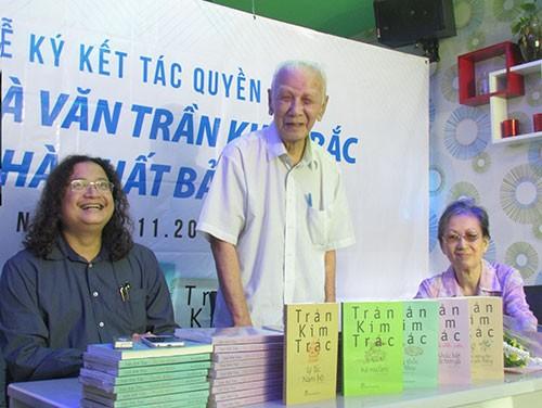 Mua tác quyền trọn đời tác phẩm của nhà văn Trần Kim Trắc - ảnh 2