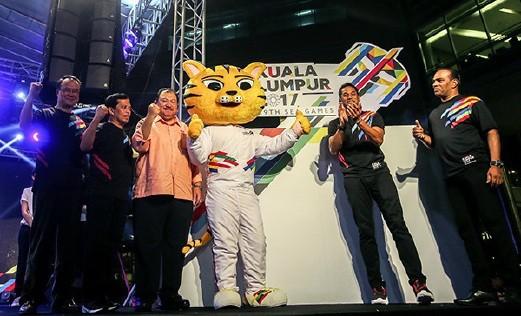 Malaysia giới thiệu biểu tượng SEA Games 29 - ảnh 1