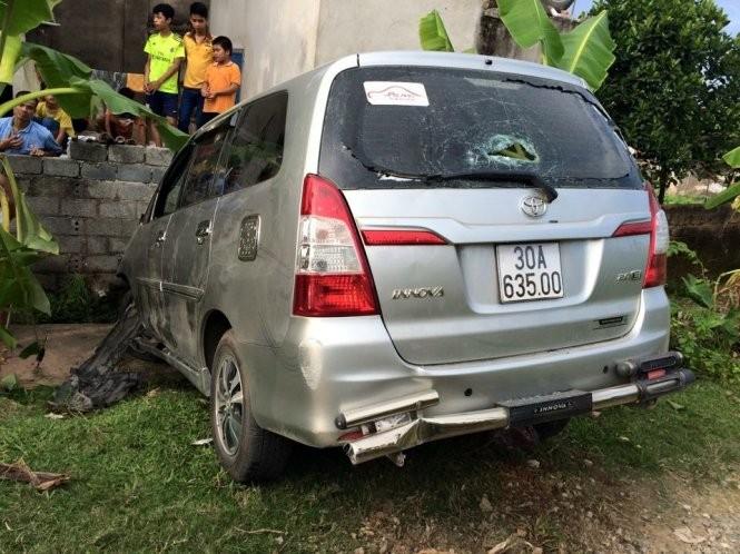 Tạm giữ tài xế gây tai nạn rồi bỏ chạy  - ảnh 1