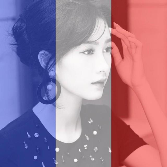 Hoa hậu Đặng Thu Thảo đổi ảnh đại diện trên trang cá nhân để nguyện cầu bình an cho Paris.