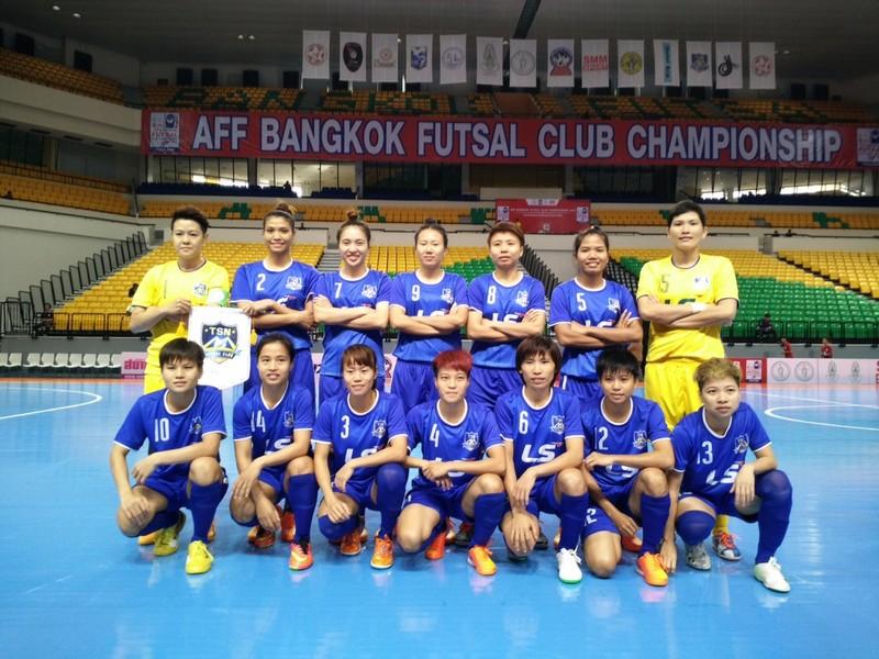 Thái Sơn Nam thắng đậm trận đầu tại giải futsal nữ Đông Nam Á 2015 - ảnh 1
