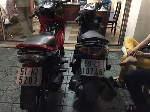 Cảnh sát hình sự truy bắt nhóm cướp giật có tổ chức - ảnh 3