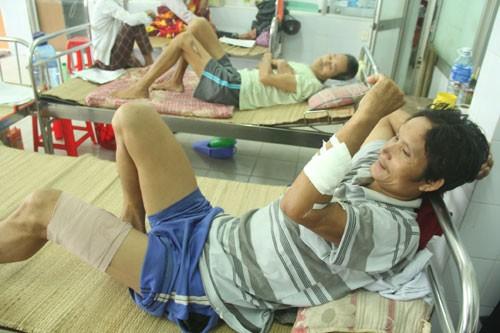 Thêm một nạn nhân nhập viện vì bị heo rừng tấn công - ảnh 1