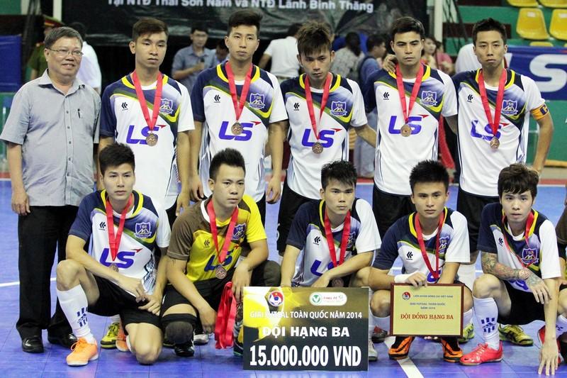 Giải Cúp Futsal Quốc gia đầu tiên: Tìm đường lên… chuyên - ảnh 1