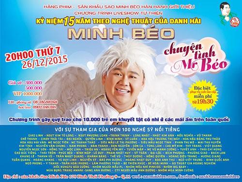 Hôm nay Minh Béo trực tiếp live show khắp thế giới - ảnh 1