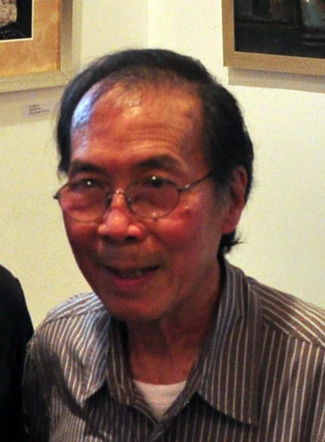 Họa sĩ Đinh Cường - Ảnh: Thái Lộc