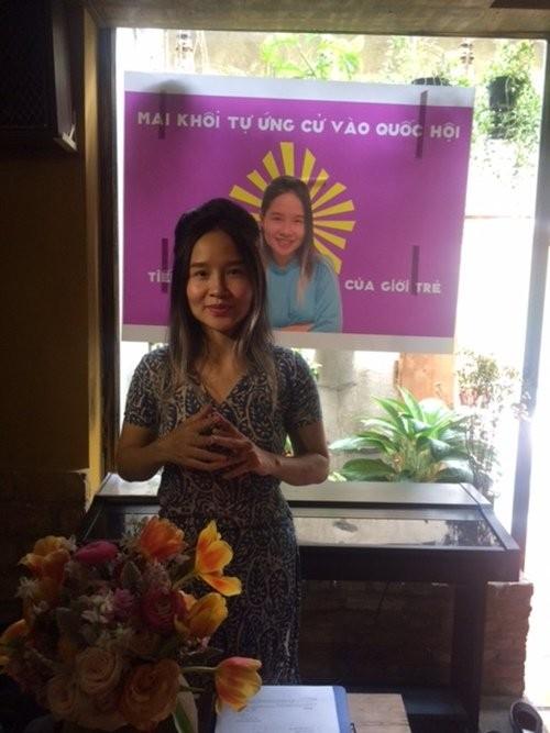 Ca sĩ Mai Khôi tự ứng cử đại biểu Quốc hội - ảnh 1