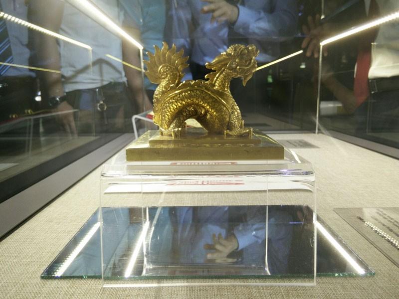 Trưng bày Bảo vật Hoàng cung - Kim ấn và Kim sách triều Nguyễn - ảnh 2