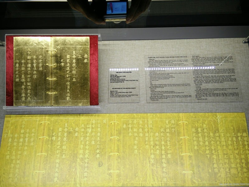 Trưng bày Bảo vật Hoàng cung - Kim ấn và Kim sách triều Nguyễn - ảnh 1