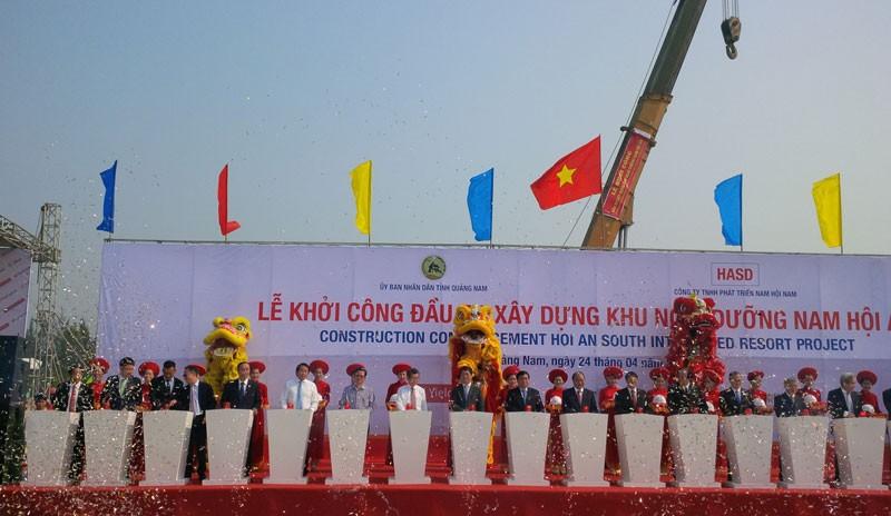 Thủ tướng dự khởi công dự án 4 tỉ USD tại Quảng Nam  - ảnh 2