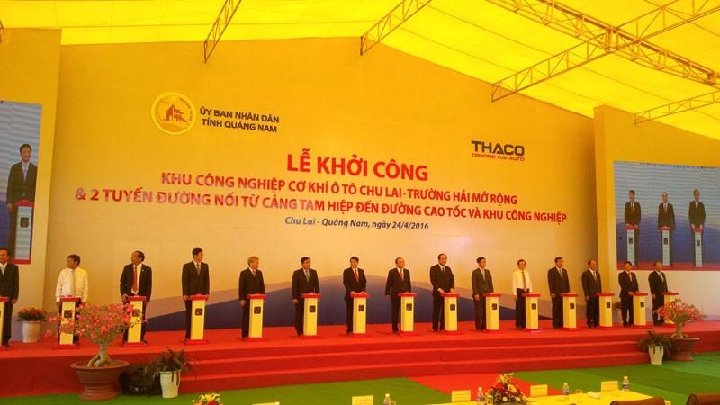 Thủ tướng dự khởi công dự án 4 tỉ USD tại Quảng Nam  - ảnh 3