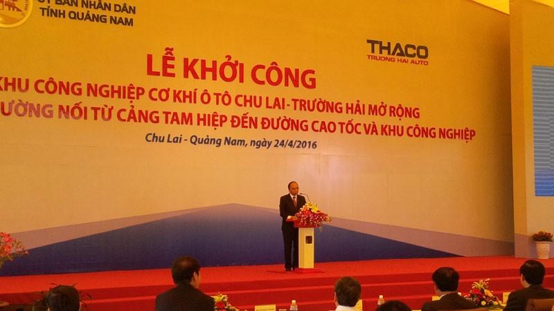 Thủ tướng dự khởi công dự án 4 tỉ USD tại Quảng Nam  - ảnh 1