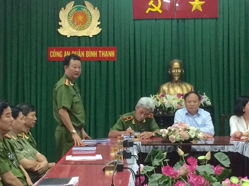 Lãnh đạo TP.HCM khen thưởng nóng Công an quận Bình Thạnh  - ảnh 2