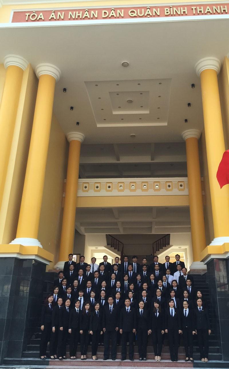 Trụ sở mới TAND quận Bình Thạnh bắt đầu vào hoạt động - ảnh 2
