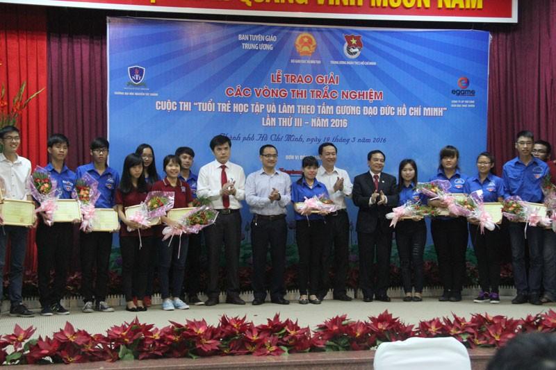 2 thí sinh đạt giải nhất 'Tuổi trẻ học tập và làm theo tấm gương đạo đức Hồ Chí Minh' - ảnh 2